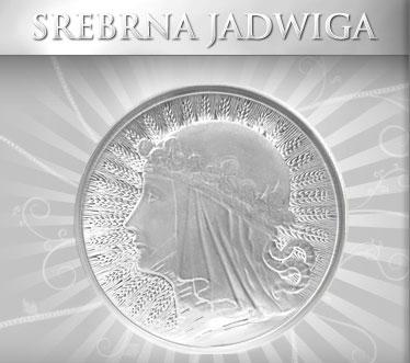 Moneta Srebrna Jadwiga
